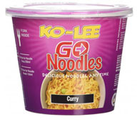 Ko-Lee Go Cup Noodles Curry