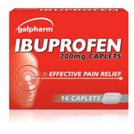 200mg Ibuprofen Caplets