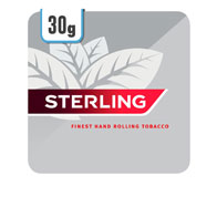 Sterling Rolling Tobacco 5 x 30g Track & Trace Compliant