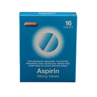 Aspar Asprin Blister Pack