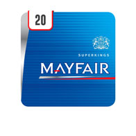 Mayfair Superkings 20 Cigarettes Track & Trace Compliant