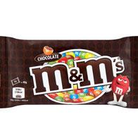M&Ms Chocolate Standard Bag